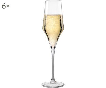 Verres à champagne volumineux Aram, 6 élém.