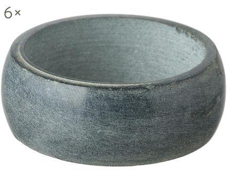 Ronds de serviette Soap Stone, 6 pièces