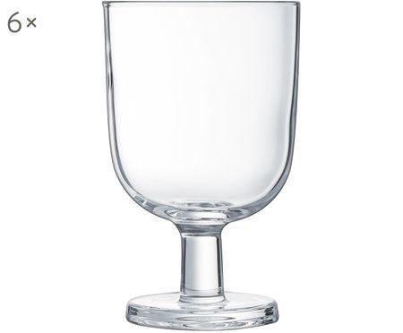 Vaso de agua Agun, 6 uds.
