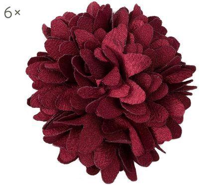 Fleurs décoratives Poils, 6pièces