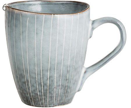 Handgemachte Tassen Nordic Sea, 6 Stück