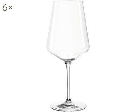 Rode wijnglazen Puccini, 6-delig