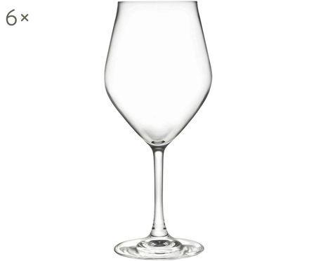 Kristallen wittewijnglas Eno, 6 stuks
