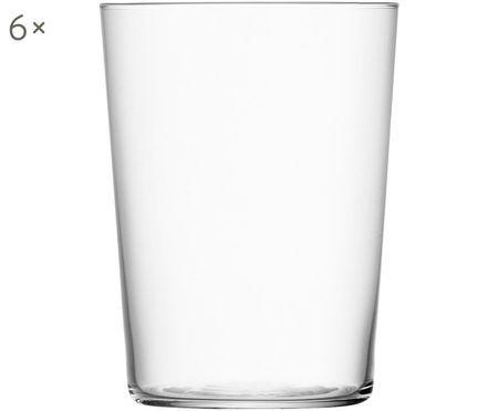 Vasos de cristal fino Gio, 6uds.