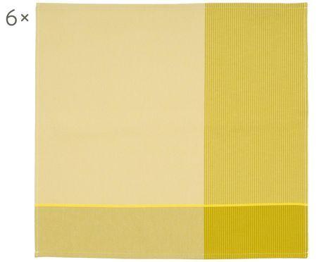 Canovaccio in giallo Blend, 6 pz.