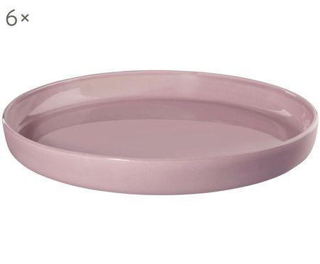 Assiettes plates Henkelba, 6 pièces