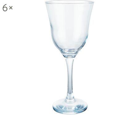 Weißweingläser Sheer Blue, 6er-Set