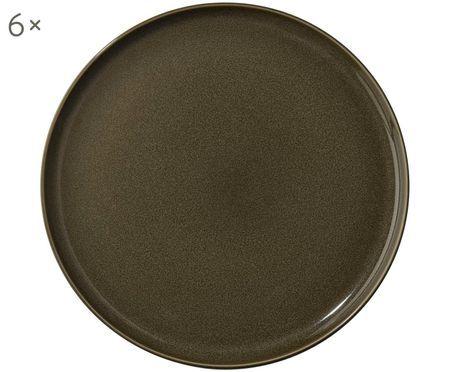 Plytký tanier Kolibri, 6 ks
