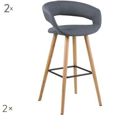 Krzesło barowe Grace, 2 szt.