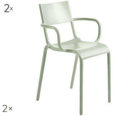 Sedie con braccioli   Generic A, 2 pz.