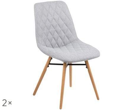 Gestoffeerde stoelen Lif, 2 stuks
