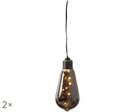 Dekorační lampa s časovačem Glow, 2 ks