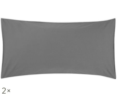 Poszewka na poduszkę z perkalu Daria, 2 szt.