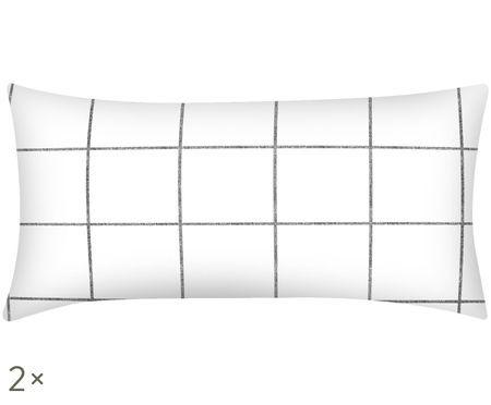Poszewka na poduszkę z perkalu Juna, 2szt.