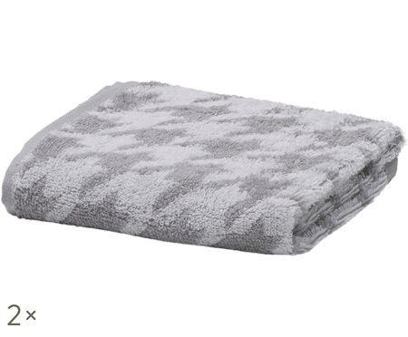 Ręcznik dla gości Daily Shapes Bird, 2 szt.