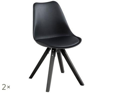 Krzesło tapicerowane Elin, 2 szt.