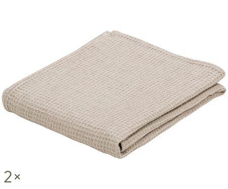 Asciugamano per ospiti in lino Lauja, 2 pz.