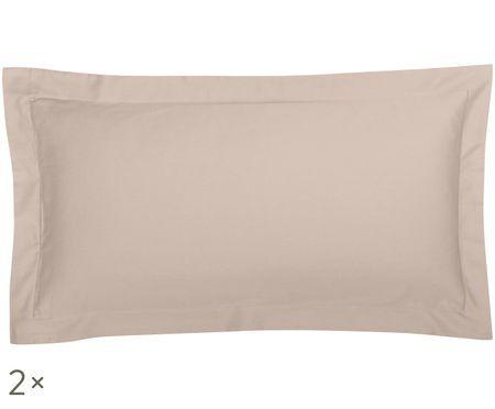 Poszewka na poduszkę z satyny bawełnianej Premium, 2 szt.