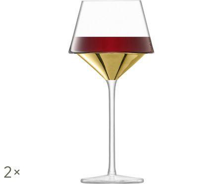 Bicchieri da vino rosso in vetro soffiato Space, 2 pz.