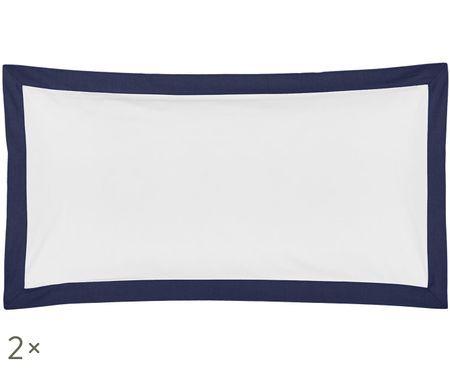 Poszewka na poduszkę z perkalu Joanna, 2 szt.