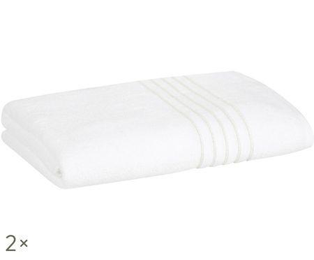Handdoeken Alice met lurex rand, 2 stuks