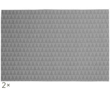 Kunststoff Tischsets Lohan Triangle, 2 Stück
