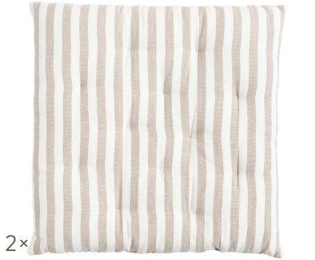 Dwustronna poduszka na krzesło Fine, 2 szt.