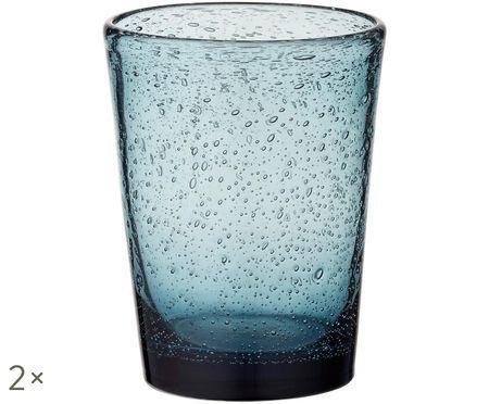 Wassergläser Agine mit Lufteinschlüssen, 2er-Set