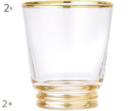 Bicchieri per l'acqua  Frame, 2 pz.