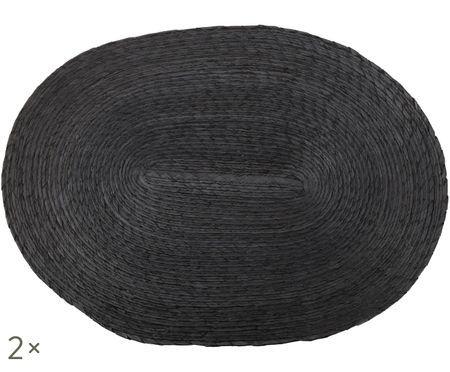 Sets de table ovales Mineola, 2 pièces