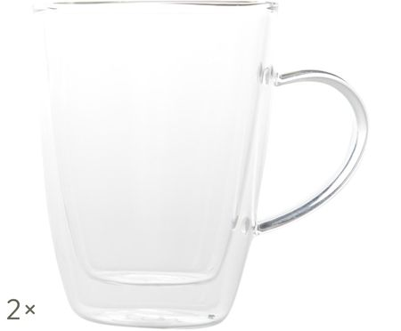Tazas termo doble cara Isolate, 2 uds.