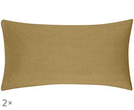 Obliečka na vankúš   efektom soft-washed a lemom Arlene, 2 ks