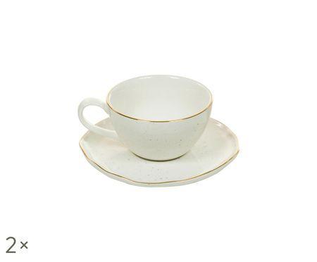 Tasses à espresso faites à la main Bol, 4élém.