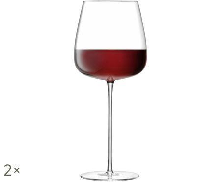 Copas de vino tinto sopladas Wine Culture, 2uds.