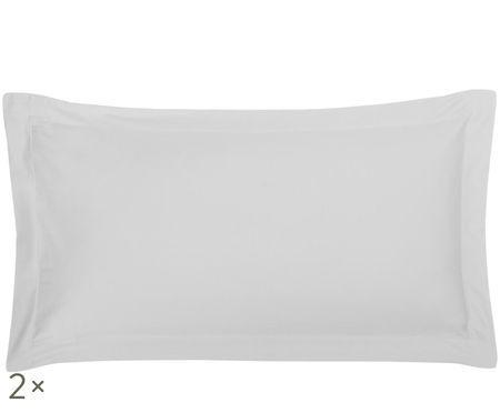 Obliečky na vankúše z bavlneného saténu Premium,  2 ks