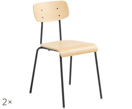 Krzesło Klun, 2 szt.