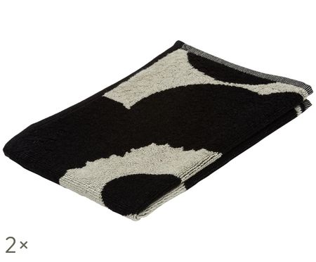 Asciugamano per ospiti Unikko, 2 pz.