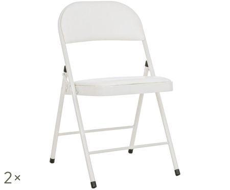 Chaise pliante Felicity, 2pièces