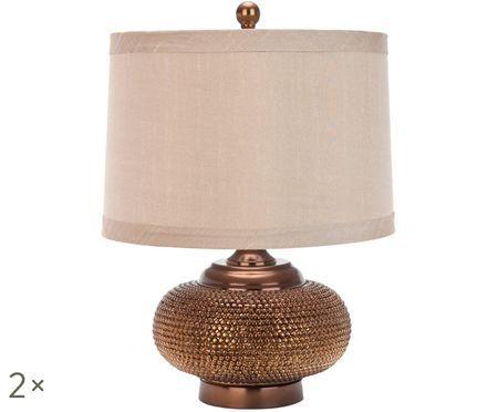Lampade da tavolo Oriental, 2 pz.
