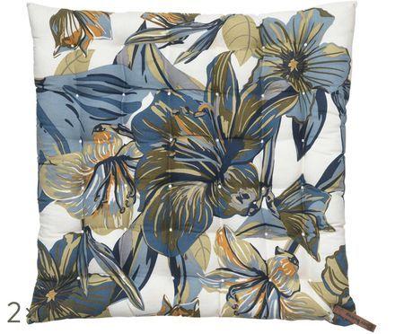 Vankúš na stoličku Lily Flower, 2 ks