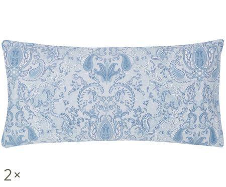 Poszewka na poduszkę z satyny bawełnianej Grantham, 2 szt.