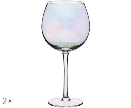 Kieliszek do czerwonego wina Iridescent, 2 szt.