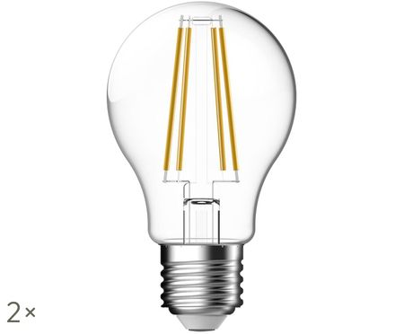 Lampadina LED Clear (E27 / 7Watt), 2 pz.