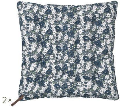 Poduszka na siedzisko Retro Flower, 2 szt.