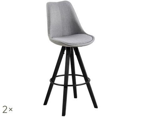 Krzesło barowe Dima Textile, 2 szt.