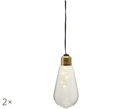 Lampes décoratives Glow, 2pièces