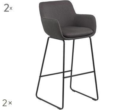 Krzesło barowe Lisa, 2 szt.