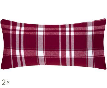 Poszewka na poduszkę z flaneli Rolf, 2 szt.