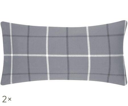 Poszewka na poduszkę z flaneli Rafa, 2 szt.