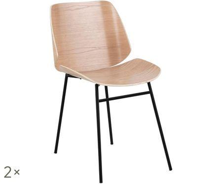 Sedia in legno Aks, 2 pz.